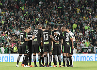 BOGOTA - COLOMBIA, 29-05-2018: Atlético Huila y Atlético Nacional en partido de ida por la semifinal de la Liga Águila I 2018 jugado en el estadio Nemesio Camacho El Campin en la ciudad de Bogotá. / Atletico Huila and Atletico Nacional in first leg match for the semifinal of the Aguila League I 2018 played at Nemesio Camacho El Campin in Bogota city. VizzorImage/ Gabriel Aponte / Staff