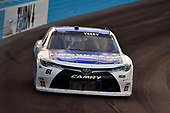 #61: J.J. Yeley, Hattori Racing Enterprises, Toyota Supra Smithbilt Homes