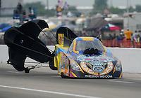 May 1, 2011; Baytown, TX, USA: NHRA funny car driver Jim Head during the Spring Nationals at Royal Purple Raceway. Mandatory Credit: Mark J. Rebilas-