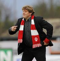 SV Zulte-Waregem - KV Kortrijk..Hein Vanhaezebrouck..foto David Catry /VDB
