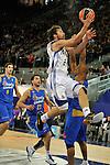 MADRID, Spain (22/01/11). Liga ACB de baloncesto, jornada 18, Real Madrid vs Asefa Estudiantes. Caja Magica...Sergio Llull...©Raul Perez .