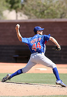 Jeremy Papelbon, Chicago Cubs 2010 minor league spring training..Photo by:  Bill Mitchell/Four Seam Images.