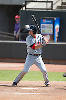 Cole Sturgeon (21) of the Salem Red Sox at bat against the Winston-Salem Dash at BB&T Ballpark on May 31, 2015 in Winston-Salem, North Carolina.  The Red Sox defeated the Dash 6-5.  (Brian Westerholt/Four Seam Images)