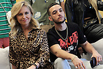 The general director of the south and east of Sportify Europe, Federica Tremolada and the trap singer and rapper, C. Tangana during the Spanish Urban Music Event organized by Spotify on September 25, 2019 in Madrid, Spain.(ALTERPHOTOS/ItahisaHernandez)