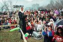 Syria 2000 <br /> Celebration of Nowruz in Damascus  <br /> <br /> Syrie 2000 <br /> Fete de Nowruz dans un jardin de Damas