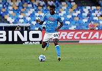 11th September 2021; Maradona Stadium, Naples, Italy; Serie A football, SSC Napoli versus Juventus  FC: Andre Anguissa of Napoli