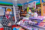 Sheahan's Shop: Arleen O'Doherty, proprietor of Shehan's Shop, Willim St., Listowel serving Marilyn Barrett, Listowel t her shop on Friday morning last.