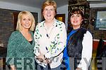 Lorraine Scanlon, Ann Myers and Noreen Murphy enjoying Little Women's Christmas in the Brogue Inn on Monday.