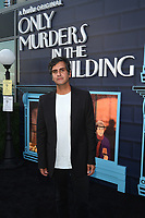 """NEW YORK CITY - AUG 24: Composer Siddhartha Khosla attends the screening of Hulu's """"Only Murders in the Building"""" at The Greens at Pier 17 on August 24, 2021 in New York City. (Photo by Frank Micelotta/Hulu/PictureGroup)"""