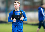 St Johnstone Training…….Liam Craig pictured during training at McDiarmid Park ahead of tomorrow's SPFL fixture against Livingston.<br />Picture by Graeme Hart.<br />Copyright Perthshire Picture Agency<br />Tel: 01738 623350  Mobile: 07990 594431
