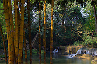 Small waterfall near Maymyo (Pyin Oo Lwin) is Burma\'s best-known colonial hill station, Myanmar