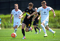 151129 ASB Premiership Football - Team Wellington v Waitakere United