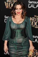 NEW YORK CITY, NY, USA - DECEMBER 08: Alyssa Milano arrives at the World Premiere Of Walt Disney Pictures' 'Into The Woods' held at the Ziegfeld Theatre on December 8, 2014 in New York City, New York, United States. (Photo by Celebrity Monitor)