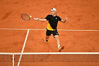 6th October 2020, Roland Garros, Paris, France; French Open tennis, Roland Garros 2020; Diego Schwartzman - (Arg)