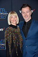 "LOS ANGELES, USA. December 17, 2019: Jaime King & Kyle Newman at the world premiere of ""Star Wars: The Rise of Skywalker"" at the El Capitan Theatre.<br /> Picture: Paul Smith/Featureflash"