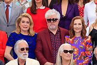 Catherine DENEUVE, Pedro ALMODOVAR, Isabelle HUPPERT, Michael HANEKE et Jane CAMPION - PHOTOCALL DES PERSONNALITES AU 70EME ANNIVERSAIRE DU FESTIVAL DU FILM CANNES