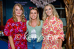 Enjoying the evening in Benners Hotel on Saturday, l to r: Gloria Keane, Jennifer Conway and Niamh Guerin
