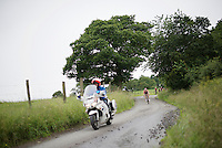Maxime Monfort (BEL/Lotto-Soudal) on the tricky descent of La Redoute<br /> <br /> stage 4: Hotel Verviers - La Gileppe (Jalhay/BEL) 186km <br /> 30th Ster ZLM Toer 2016