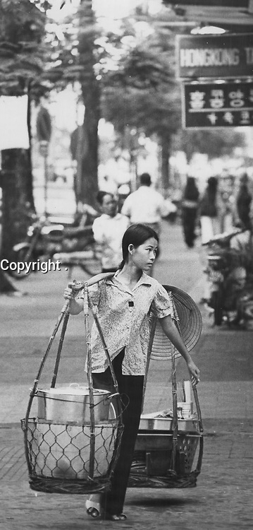 1973 FILE PHOTO -<br /> <br /> Going to the market