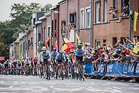 Team Belgium up the Wijnpers<br /> <br /> Men Elite – Road Race (WC)<br /> Race from Antwerp to Leuven (268.3km)<br /> <br /> ©kramon