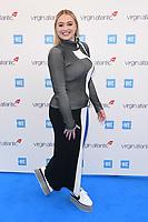 Iskra Lawrence<br /> arriving for WE Day 2019 at Wembley Arena, London<br /> <br /> ©Ash Knotek  D3485  06/03/2019