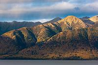 Sunrise on the Chugach mountains, Turnagain Arm, Chugach National Forest, southcentral, Alaska.