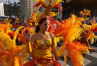 Spanien, Kanarische Inseln, Teneriffa, Karneval in Puerto de la Cruz