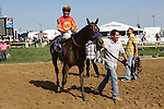 Fiftyshadesofhay (#3) with Joel Rosario  win the 89th running 0f the Grade II Black-eyed Susan Stakes for 3-year old fillies, going 1 1/8 mile, at Pimlico Race Course.  Trainer Bob Baffert.  Owners Karl Watson, Michael Pegram & Paul Weitman