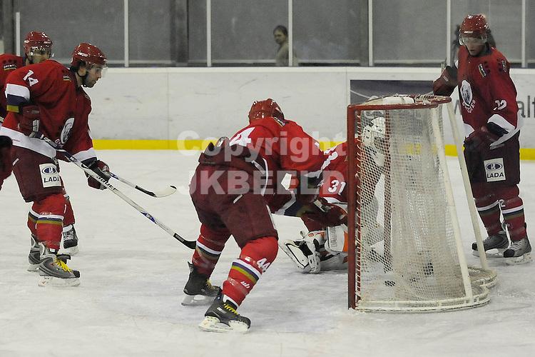 ijshockey grzzlies - hijs seizoen 2008-2009 01-02-2009  hijs scoort 0-1.