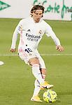 Real Madrid's Luka Modric during La Liga match. April 18,2021. (ALTERPHOTOS/Acero)