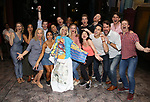 """Jenifer Foote with ensemble cast during the Broadway Opening Night Actors' Equity Legacy Robe Ceremony honoring Jenifer Foote for """"Tootsie"""" at The Marquis Theatre on April 22, 2019  in New York City."""