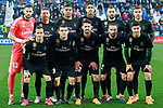 Real Madrid's team photo with Kiko Casilla, Sergio Ramos, Carlos Henrique Casemiro, Raphael Varane, Karim Benzema, Theo Hernandez, Lucas Vazquez, Mateo Kovacic, Isco Alarcon, Daniel Carvajal and Marco Asensio during La Liga match. February 21,2018. (ALTERPHOTOS/Acero)