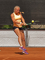 Netherlands, Rotterdam August 08, 2015, Tennis,  National Junior Championships, NJK, TV Victoria, Annick Melgers<br /> Photo: Tennisimages/Henk Koster