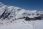Riding the Maass Chairlift at Rendl Ski Area, St Anton, Austria,