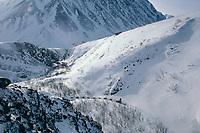 Diana Dronenburg Rainy Pass Alaska Range 1989 Iditarod AK winter scenic