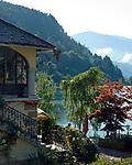 Oesterreich, Kaernten, Millstaetter See, Millstatt: Hotel Hubertussschloessl | Austria, Carinthia, Lake Millstatt, Millstatt: Hotel Hubertusschloessl