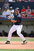 March 20th 2008:  Travis Hafner of the Cleveland Indians during a Spring Training game at Chain of Lakes Park in Winter Haven, FL.  Photo by:  Mike Janes/Four Seam Images