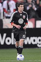 DC United midfielder Chris Pontius (13)  Chicago Fire tied DC United 1-1 at  RFK Stadium, Saturday March 28, 2009.