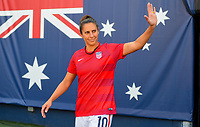 San Diego, CA - Sunday July 30, 2017: Carli Lloyd during the Tournament of Nations match between the women's national teams of the United States (USA) and Brazil (BRA) at Qualcomm Stadium.