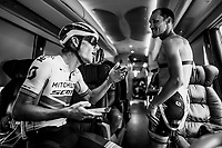 at the race start in Tarbes<br /> <br /> Stage 14: Tarbes to Tourmalet(117km)<br /> 106th Tour de France 2019 (2.UWT)<br /> <br /> ©kramon