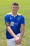 Liam Gordon, St Johnstone FC...2021-22 Season<br />Picture by Graeme Hart.<br />Copyright Perthshire Picture Agency<br />Tel: 01738 623350  Mobile: 07990 594431