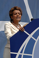 Ottawa (ON) CANADA, July 1st, 2007 -<br /> <br /> Michaelle Jean Governor  speak during<br /> Canada day celebration in the national capital.<br /> photo : (c)  Michel Karpoff - Images Distribution