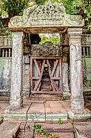 Cambodia, Beng Mealea Sanctuary Entrance, 12th. Century.