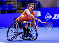 Rotterdam, Netherlands, December 12, 2017, Topsportcentrum, Ned. Loterij NK Tennis, Wheelchair Fleur Pieterse (NED)<br /> Photo: Tennisimages/Henk Koster