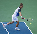 Richard Gasquet (FRA) loses to Rafael Nadal (ESP) 6-4, 7-6, 6-2 at the US Open being played at USTA Billie Jean King National Tennis Center in Flushing, NY on September 7, 2013