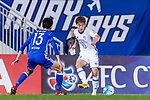 Suwon Midfielder Seo Jungjin (R) in action during the AFC Champions League 2017 Group G match between Eastern SC (HKG) vs Suwon Samsung Bluewings (KOR) at the Mongkok Stadium on 14 March 2017 in Hong Kong, China. Photo by Yu Chun Christopher Wong / Power Sport Images