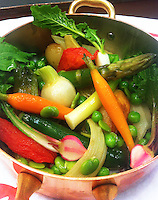 close up of vegetable stew
