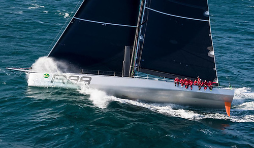 Will Rambler 88 score the elusive double (line and overall corrected time honours) or achieve her third line honours on the new 695 nm course in this August's Rolex Fastnet Race? © ROLEX/Carlo Borlenghi