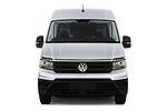 Car photography straight front view of a 2017 Volkswagen Crafter Base 4 Door Cargo Van