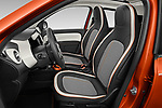 Front seat view of 2021 Renault Twingo-Electric Vibes 5 Door Hatchback Front Seat  car photos